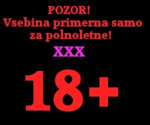 18+ opozorilo