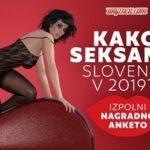 """Eva poroča: trenutni rezultati ankete """"Kako seksamo Slovenci v 2019?"""""""